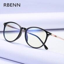 RBENN marka projektant klasyczne okulary do czytania mężczyźni blokujące niebieskie światło okulary do czytania kobiety + 0 0.5 0.75 1.25 1.75 2.25 2.75 5.0