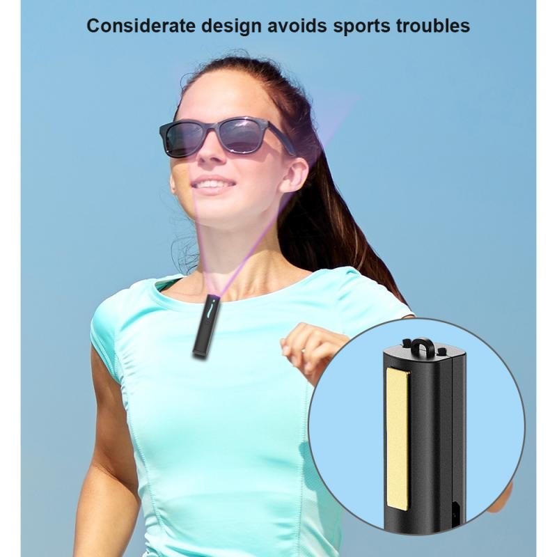 Purificatore d'aria indossabile barra di ossigeno a ioni negativi portatile deodorante muto deodorante per ambienti rimuovere batteri dell'aria, formaldeide, fumo, odore