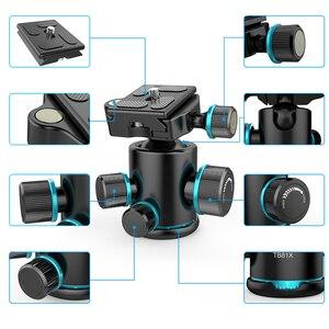 Image 3 - Andoer رأس كروي بانورامي دوار 360 درجة ، TB81X ، رأس كروي لكاميرا DSLR ، حامل أحادي منزلق