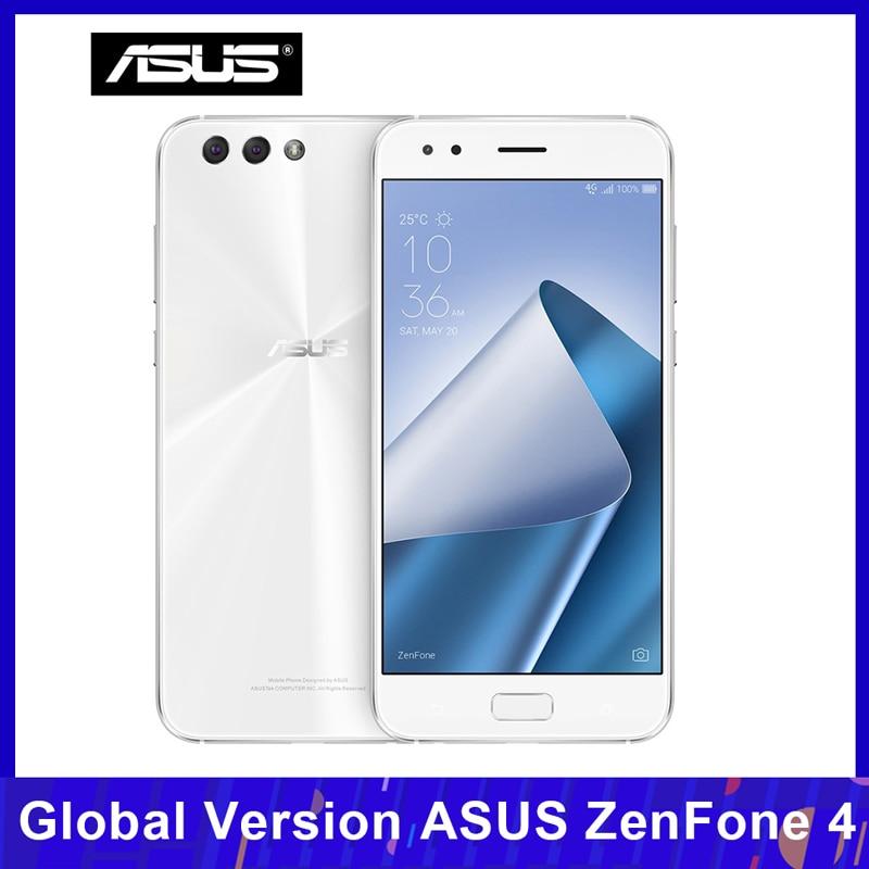 Versión Global ASUS ZenFone 4 (ZE554KL) teléfono móvil 4GB 64GB Snapdragon 630 Octa-core 5,5 pulgadas 12MP + 8MP NFC 3300mAh huella dactilar