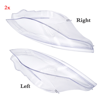 1 Pcs/Pair Front Headlight Lens Cover HeadLamp Shell Housing For BMW 5 series E60 M5 E61 525i 530i 528i 535i 540i 550i 545i R/L for bmw f10 high kick big trunk spoiler wing frp unpainted m5 style 5 series 520i 525i 528i 535i 550i wing rear spoiler 2010 17