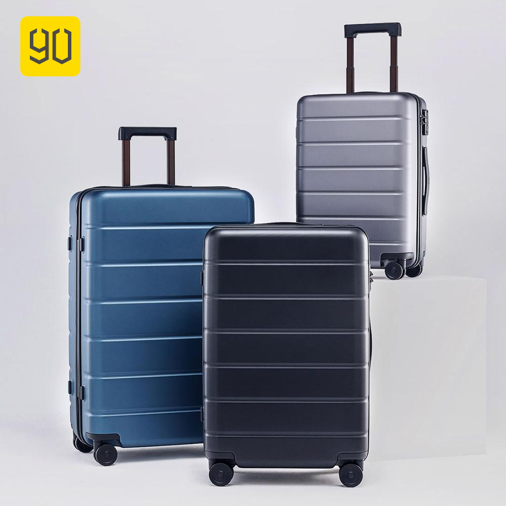 PC Suitcase Rolling-Luggage Spinner Wheels Carry On Business 90FUN Women Tsa-Lock