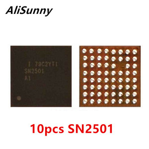 Image 1 - AliSunny U3300 SN2501 כוח טעינת ic עבור iPhone 8 בתוספת X USB מטען שבב SN2501A1 חלקי