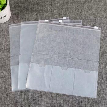 5 sztuk pcv kieszeń na suwak folder etui pcv jasne opakowanie uzupełniające na dziennik podróży ręcznie robione skórzane do przechowywania Standard kieszeń kieszeń Pas tanie i dobre opinie OLOEY Folder prezentacji Portfel Multiple models L0389 Transparent