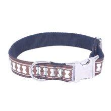 Creative Printing Pet Collar Zinc Alloy Buckle Adjustable Dog Big Chain Supplies