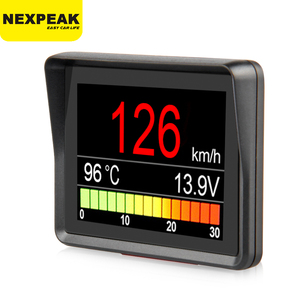 Image 1 - NEXPEAK A203 OBD2 On board Computer Car Digital Computer Trip Display Speed Fuel Consumption Temperature Gauge OBD2 Scanner