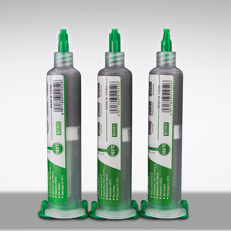 1PCS 10CC High Quality Solder Paste Flux No-clean Original RELIFE Soldering Paste RL-403 Solder Tin Sn63/Pb67 For Soldering Iron