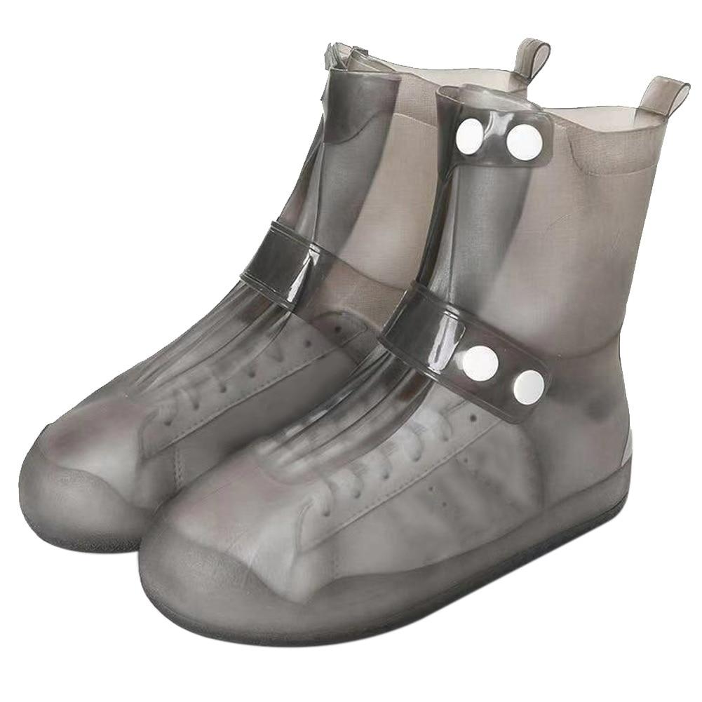 Lightweight Waterproof Shoe Cover Reusable Non-Slip Portable Overshoe Protectors Comfortable Durable Rain Boots