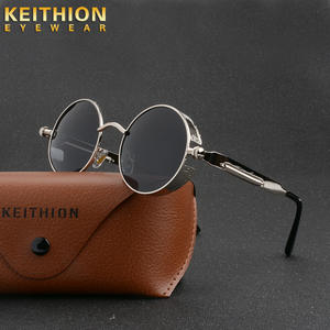 KEITHION Square Sunglasses Trending-Products 90s Transparent Vintage Gothic Women Round