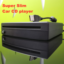 Reproductor de vídeo MP3 HD con CD de coche, USB, superfino, Compatible con PC, TV, MP5, reproductor Multimedia, Android