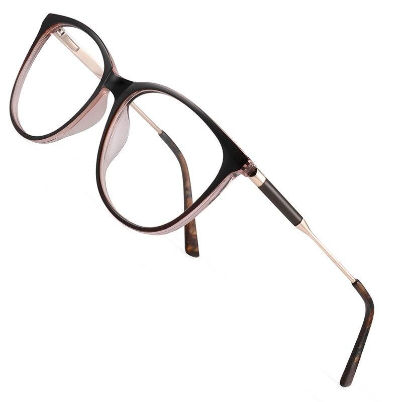 TR90 Cat Eye Blue Light Blocking Glasses Clear Transparent Anti Blue Ray Computer Glasses Women Men Gaming Goggles Eyewear