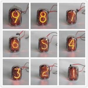 Image 4 - Novo tubo de brilho para relógio, 1 peça, novo em 12 em 12, tubo para brilho, nixie, relógio digital led com ponto decimal