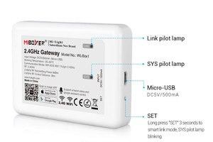 Image 1 - WL Box1 無線lan ibox ledコントローラ 2.4ghzのためのゲートウェイワイヤレスwifi rgbコントローラ音声電話のappコントロールミライトledライト