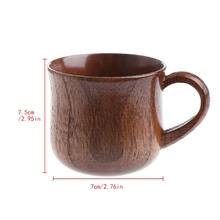 Прямая поставка деревянная чашка первобытный ручной работы из натурального дерева кофе пиво сок молоко чай Кружка