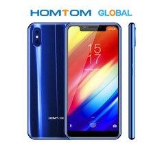 원래 HOMTOM H10 스마트 폰 안 드 로이드 8.1 Octa 코어 4 기가 바이트 64 기가 바이트 3500mAh 16MP + 2MP 후면 카메라 측면 지문 휴대 전화