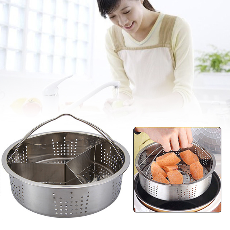 Steam Rack Stainless Steel Vegetables Convenient Steamer Steamer Basket Egg Tableware Food Cooking Cookware Kitchen Accessories