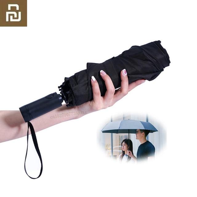 Youpin Kg Automatische Regen Paraplu WD1 Zonnige Regenachtige Zomer Aluminium Winddicht Waterdicht Uv Zon Paraplu Voor Mannen En Vrouwen