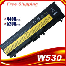 10,8 V 5200mAh Аккумулятор для ноутбука Lenovo ThinkPad T430 T430I L430 T530 T530I L530 W530 45N1005 45N1004 45N1001 45N1000