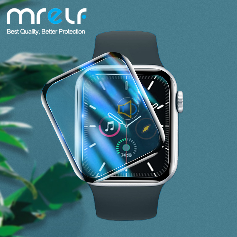Screen Protector For Apple Watch Series 6 5 4 3 2 1 Screen Protector For Apple Watch Screen Protector 38MM 40MM 42MM 44MM Glass