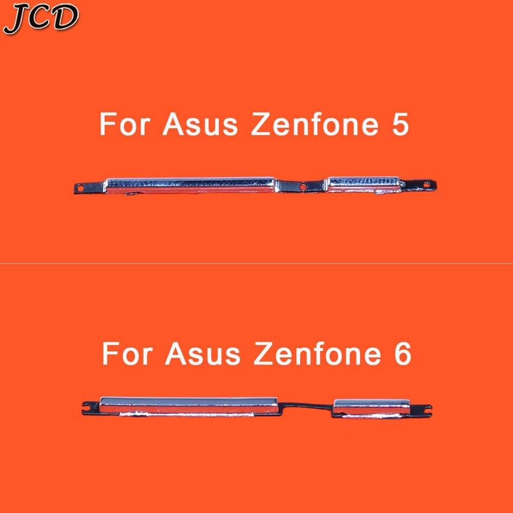 JCD For Zenfone5 Zenfone6 Power Button Volume Button Side Key For Asus Zenfone 5 T00J T00F / Zenfone 6 T00G Replacement Part