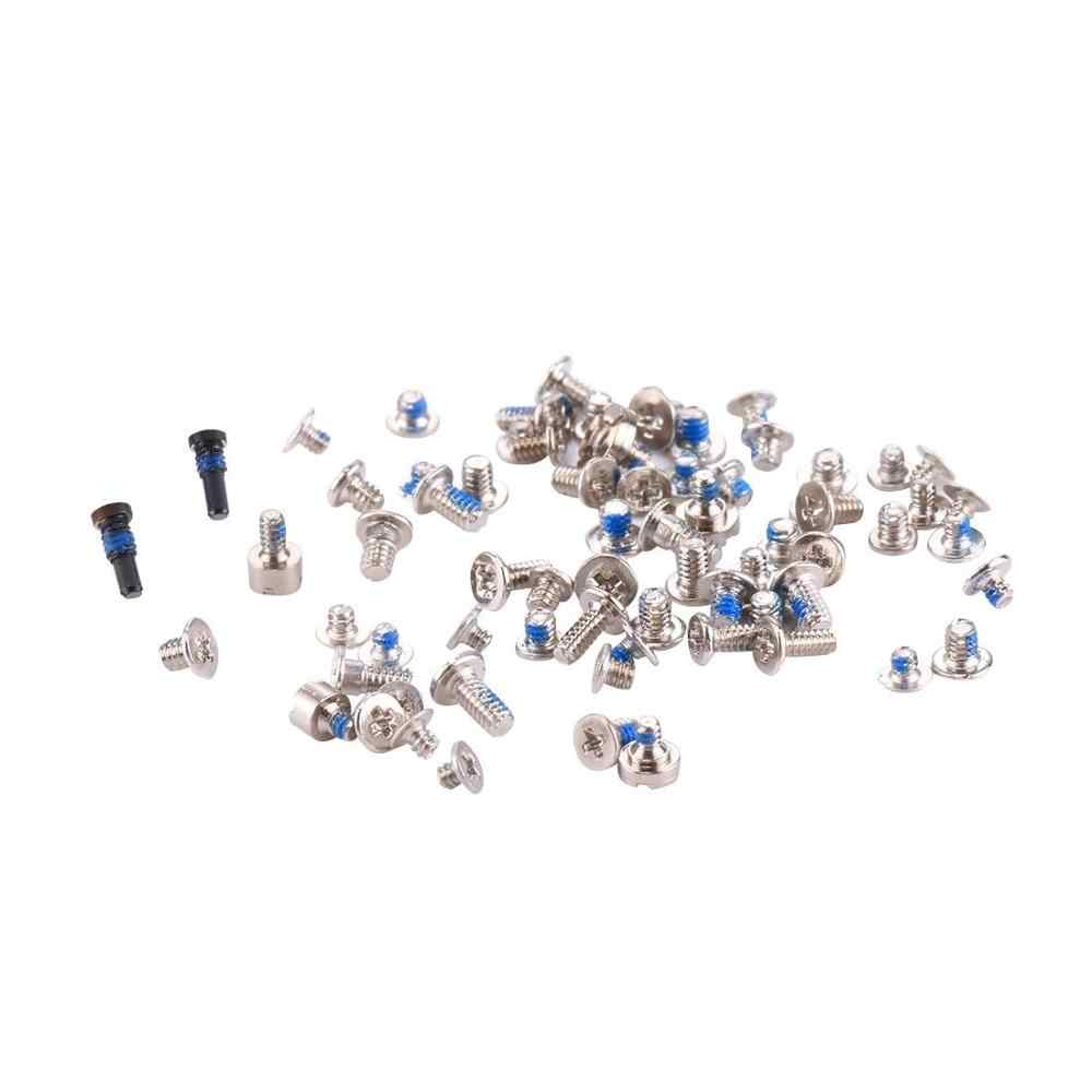 FVBH Screws Full Screw Set for iPhone 4G 4S 5G 5S 6G 6S 6PLUS Repair bolt Screw Kit Replacement Screws Accessories for iPhone