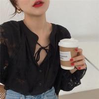 Черная блузка  #4