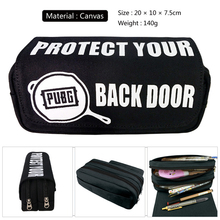 Buy 1PCS Pencil case Pencil bag new fashion students printed canvas zipper bag Pen case Pen bag gift school&office supplise directly from merchant!