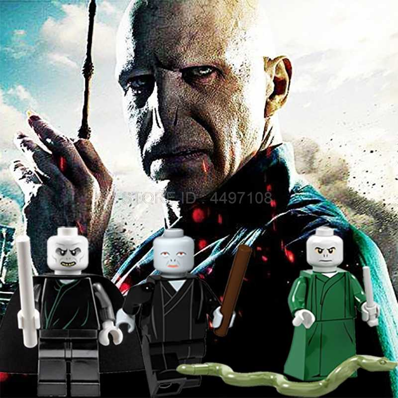 Blocks Harry Movie Figures Lord Voldemort Dementor Snape Death Eater Draco Malfoy Thestral Dolores Umbridge Technic Blocks Toys