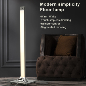 Modern Minimalist Floor Lamp LED Remote Control Floor Lights Indoor Touch Dimming Living Room Bedroom Standing Lamp Decor Light(China)