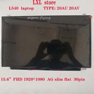 """L540 LCD screen for Thinkpad laptop 20AU 20AV LCD 15.6""""FHD 1920*1080 AG slim flat 30pin FRU 04X4870 00HM082 04X4852 B156HTN03(China)"""