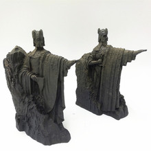 High Quality The Lord of the Rings Hobbit Third Gates Gondor Argonath Resin Statue Bookends