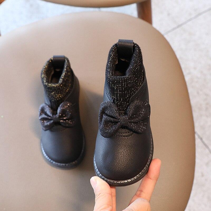 outono inverno novas criancas meias botas de 02