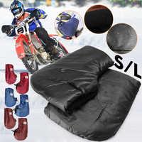 Motorrad Handschuhe Hand Lenker Handschuhe Winter Verdicken Wärmer Motorrad Roller Lenker Grip Muffs Wasserdicht Winddicht