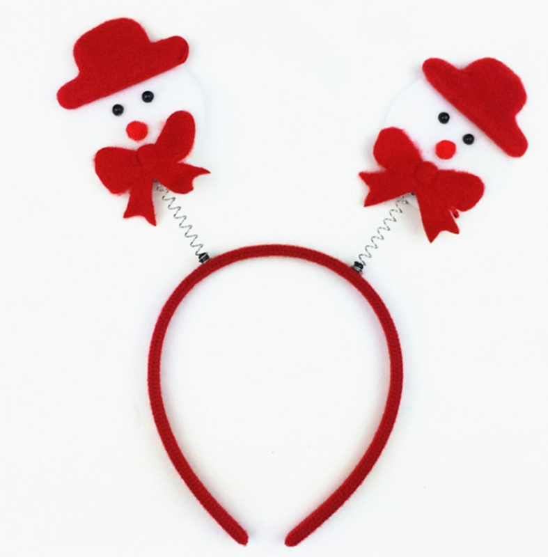 Neuheit Weihnachten Geschenk Haarbänder Schneeflocke Santa Claus X mas Socken Stirnbänder Mädchen Schöne Haar Zubehör Headwear