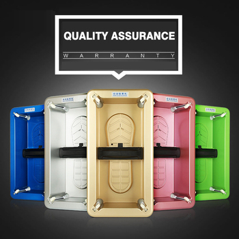 Automatic Shoes Cover Machine Booties Maker Smart Shoe Cover Dispenser Hand Free Household Stepping Disposable Shoes Organizers