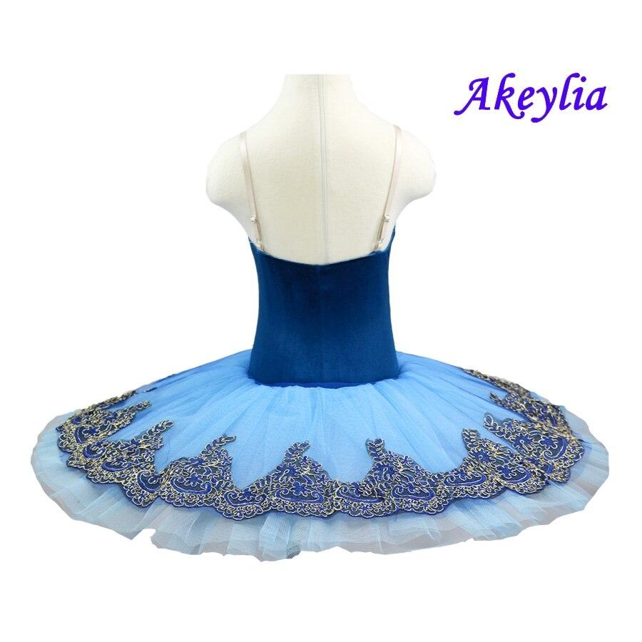 Blue Bird ballet TUTU Adult Classical ballet tutus Black Swan lake skirt tutu Professional Ballet Tutu pancake for child in Ballet from Novelty Special Use