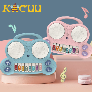 2020 Hot Sale Musical Instrument Toy Baby Portable Piano Developmental Music Early Learning Educational Toys For Children Gifts popular musical instrument keyboard toys portable baby kids animal farm music piano developmental toy children gifts