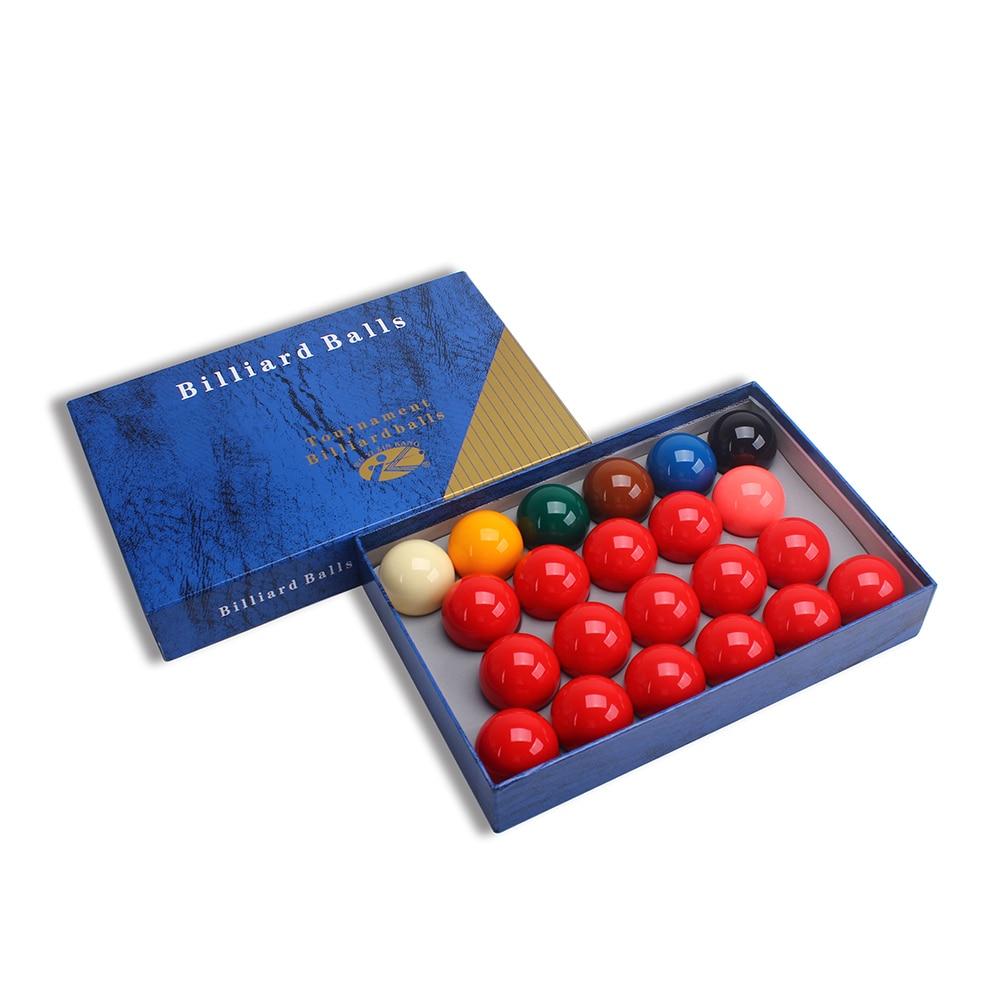 Billiard Tournament Quality Full Size Snooker Ball Set 22 Balls 2-1/16
