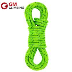 Gm escalada corda 6mm dupla trança poliéster rock/árvore escalada corda equipamentos ce segurança resgate sobrevivência caminhadas espeleologia