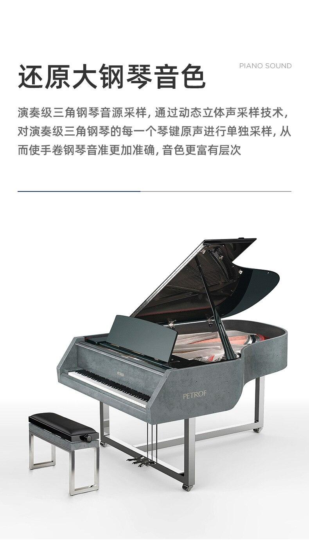 luz de piano com bolsa para carregar