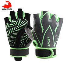 Gym-Gloves Exercise Body-Building Training Fitness Sports Women Kokossi for L/XL