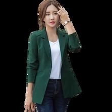Женские деловые блейзеры с длинным рукавом женские пиджаки и