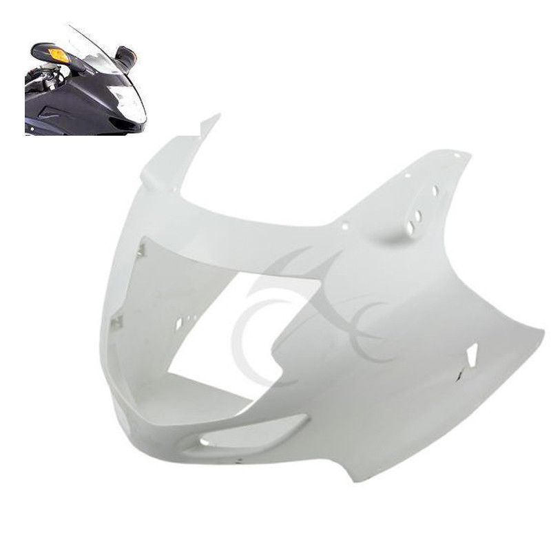 <font><b>Motorcycle</b></font> Unpainted ABS Upper Cowl Front Fairing Nose For <font><b>Honda</b></font> CBR1100XX CBR <font><b>1100</b></font> XX 1997-2007 98 99 05 06 image