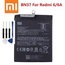 100% Оригинальный аккумулятор Xiao mi BN37 3000 мАч для Xiaomi Redmi 6 Redmi6 Redmi 6A высококачественные сменные батареи для телефона