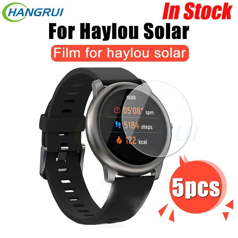 Защитная пленка из закаленного стекла для Xiaomi Haylou Solar Smart Watch HD прозрачная пленка для Haylou Solar LS05 аксессуары для часов