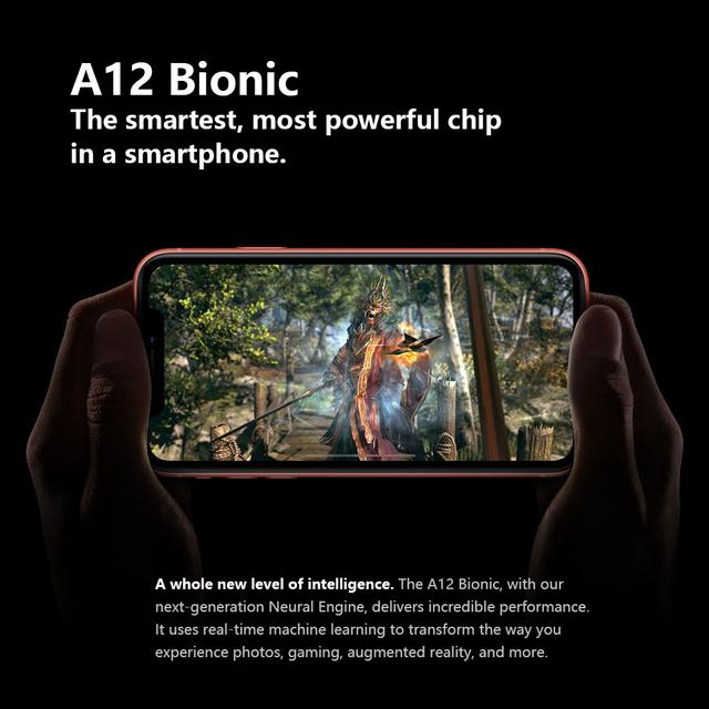 Original Apple iPhone XR Smartphone 6.1-inch Retina HD IPS Display A12 Bionic CPU 64GB /128GB ROM IOS 4G Lte Apple phone IP67