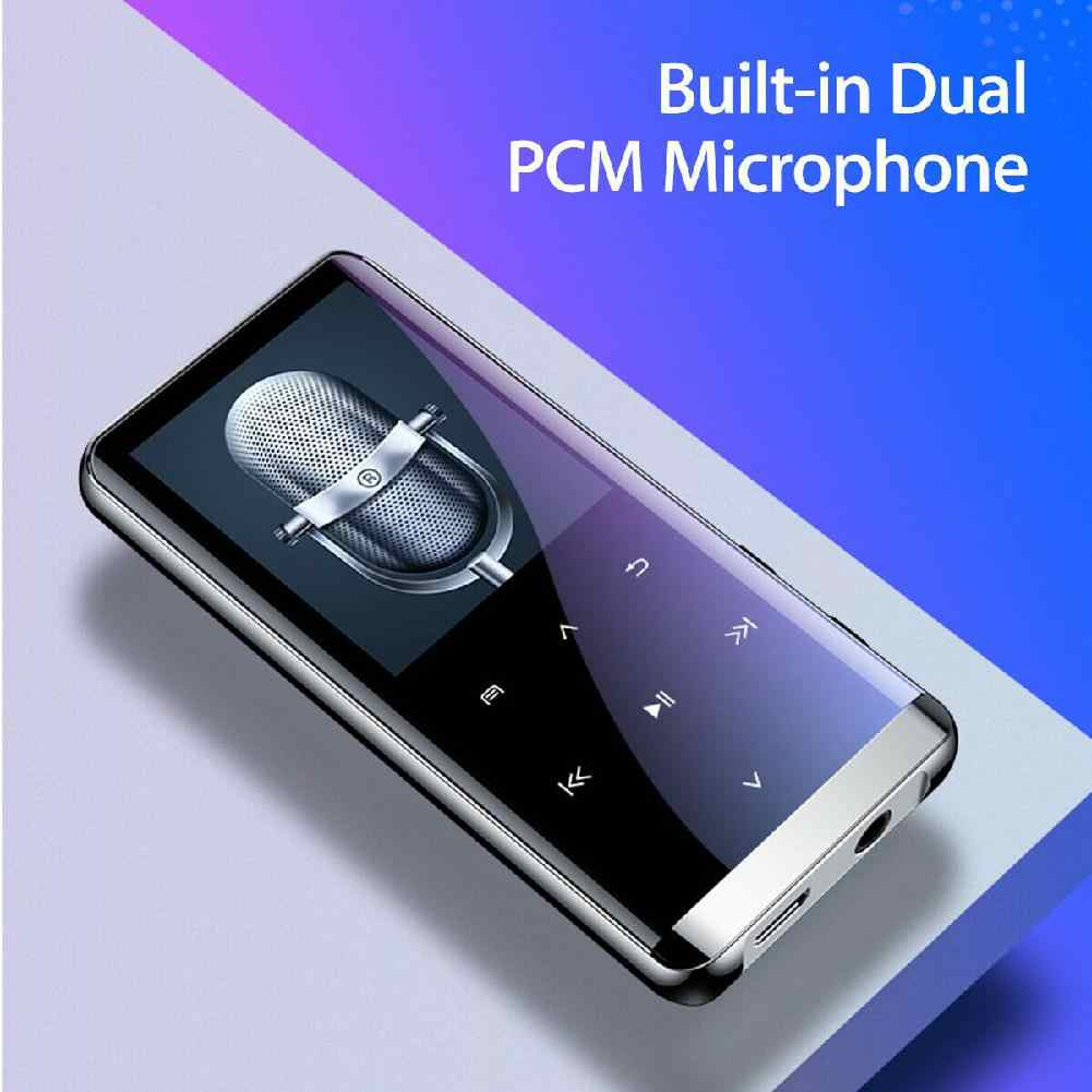 Reproductor de MP3 inalámbrico Bluetooth HIFI altavoces deportivos de música Mini MP4 grabadora de Radio Media FM portátil bluetooth reproductor de MP3 r60