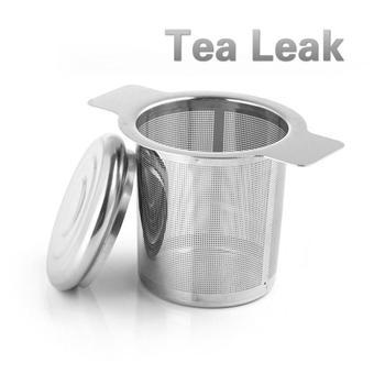 1 sztuk ze stali nierdzewnej wyciek herbaty w kubek zaparzaczem z pokrywką sitko do herbaty czajniczek liść herbaty filtr do przypraw narzędzie herbaty Teaware herbaty tanie i dobre opinie CN (pochodzenie) STAINLESS STEEL Tea leak without cover with cover (optional) 10*6*6 cm 3 9*2 4*2 4 dropshipping wholesale