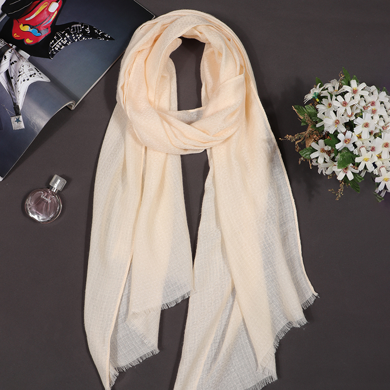 Luxury Brand Silk Women Scarf Solid Soft Cotton Scarves Female Shawl Foulard Hijab Scarf Wraps Bandana Women Cashmere Scarf