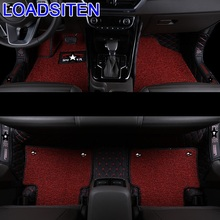 Parts Accessories Protector Decoration Automobile Auto Modified Modification Decorative Carpet Car Floor Mats FOR Kia Sportage